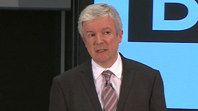 The BBC's new director general, Tony Hall