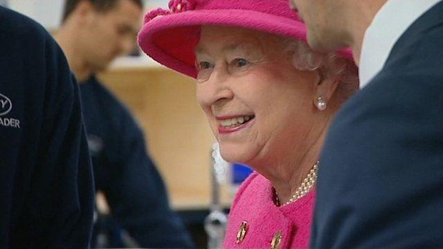 The Queen and the Duke of Edinburgh visit Bristol