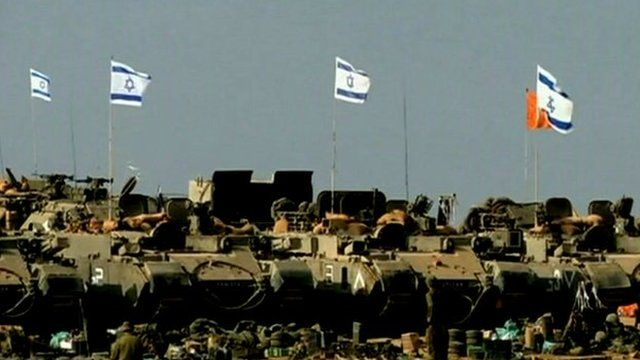 Israeli troops have started to withdraw from the Gaza border