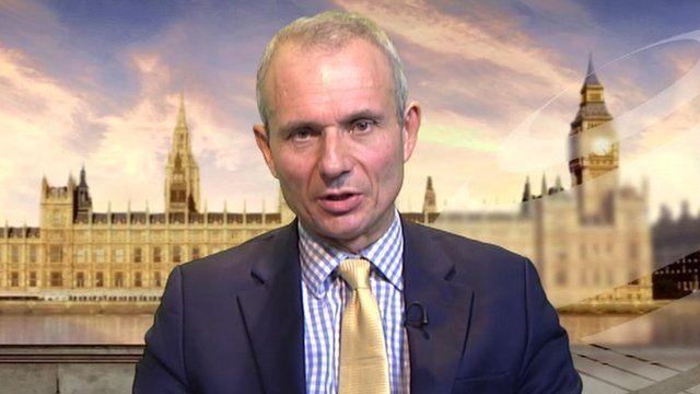 Europe Minister David Lidington