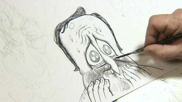 David Cameron cartoon