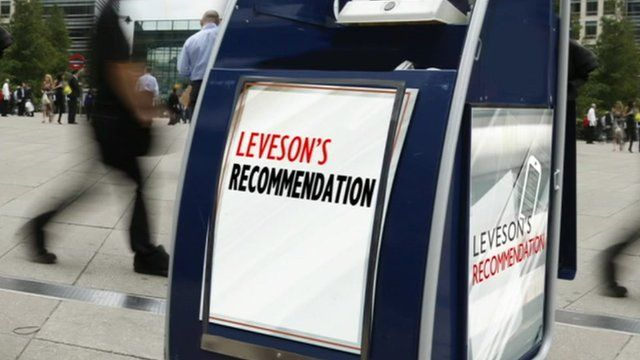 Leveson's recommendation graphic