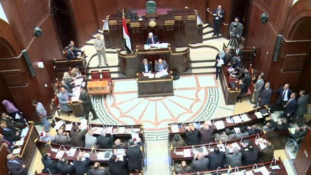 Egyptian assembly