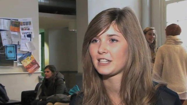 Hania Thurlow, from Norwich, is studying at Maastricht University