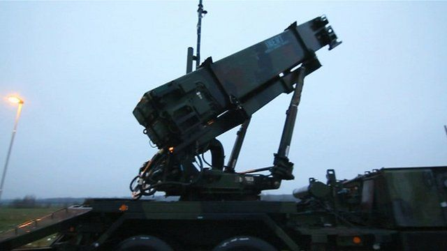 Patriot missile system