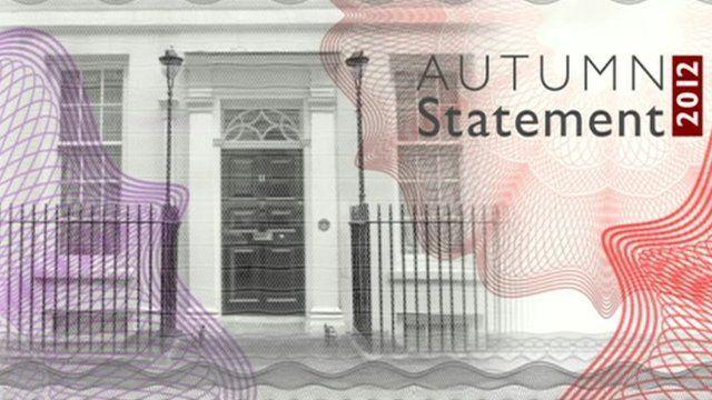 Autumn Statement graphics