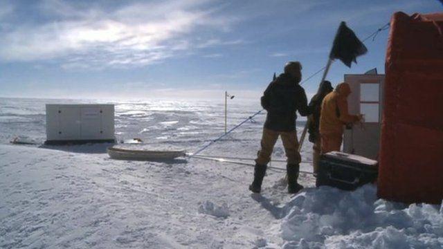 Antarctic lake study