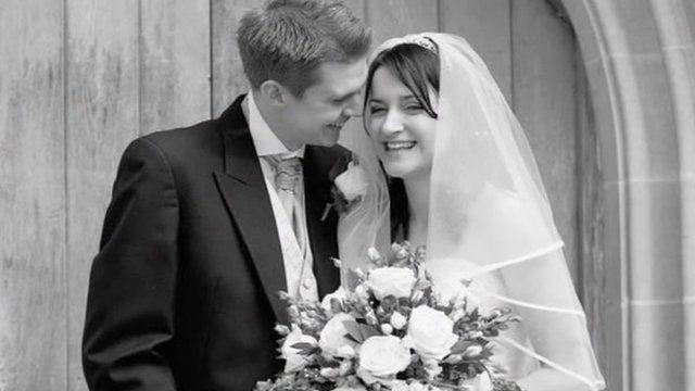 Jennifer Wederell and her husband David