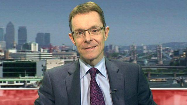 John Lewis Partnership managing director Andy Street