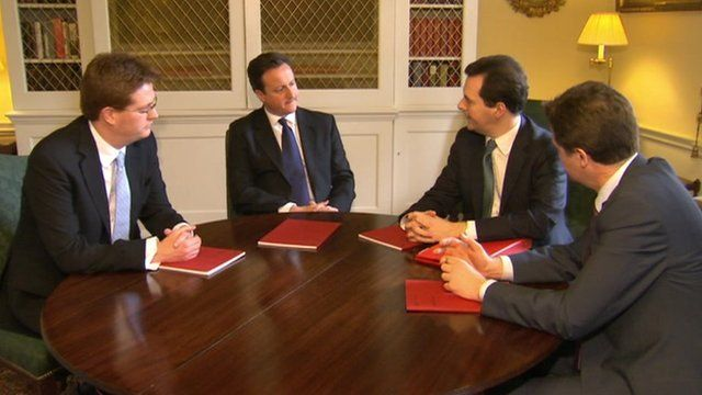 Coalition leaders