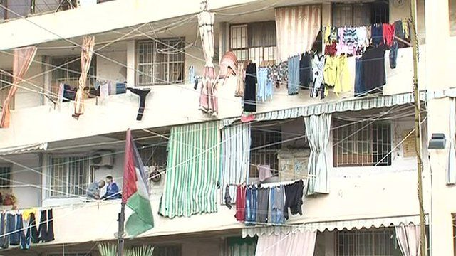 Shatila refugee camp in Beirut