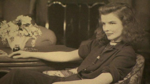 Katharine Hepburn wearing trousers