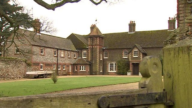 Anmer Hall on the Queen's Sandringham Estate
