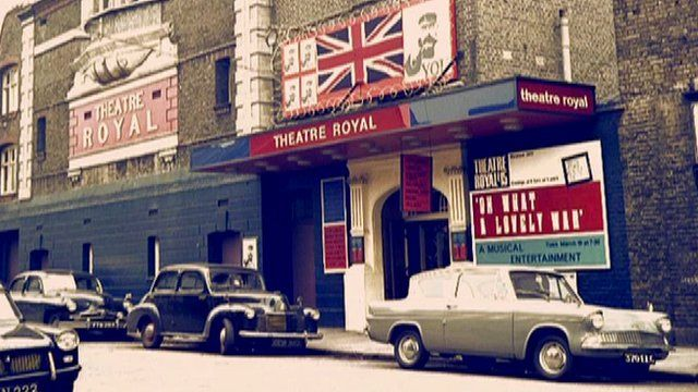 Oh, What A Lovely War! was first staged in 1963 at the Theatre Royal in Stratford East