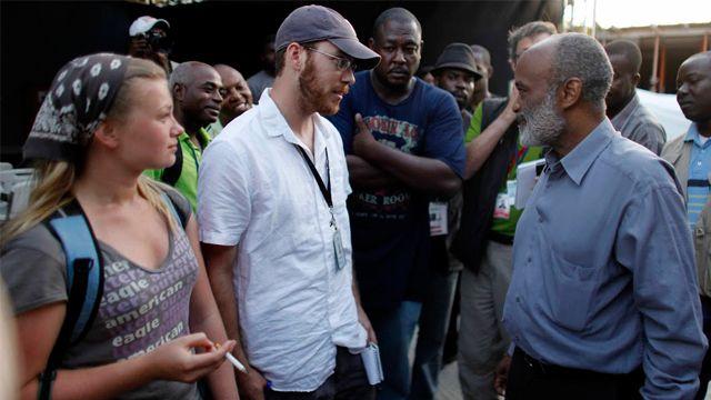 Katz in Haiti