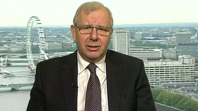 Honda Europe's executive vice president Ken Keir