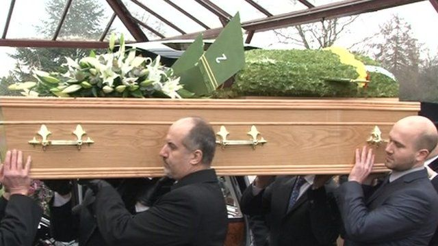 Gerry Anderson funeral