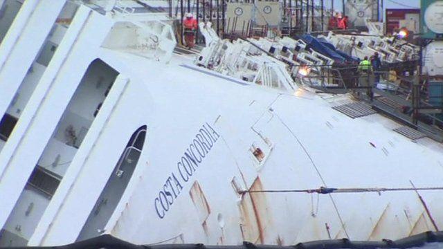 Costa Concordia wreck