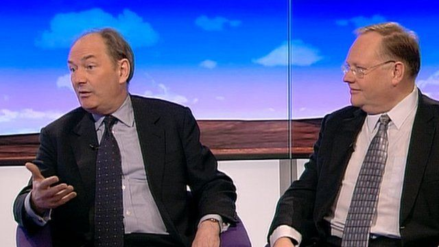 Lord Forsyth and Lord Rennard