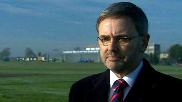 Chief Executive of Redhill Aerodrome Ventures Ltd, Jon Horne