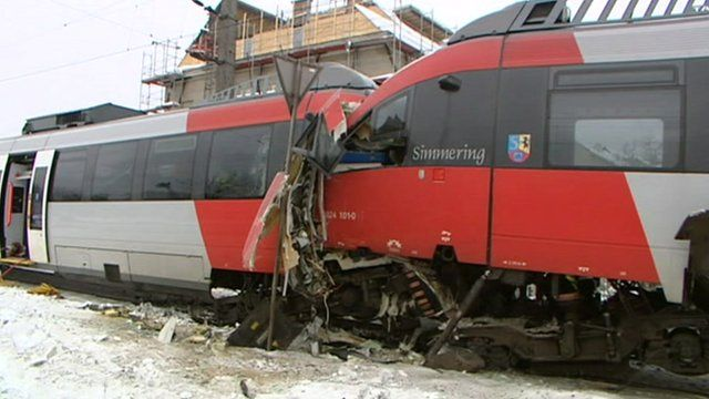 Vienna train crash