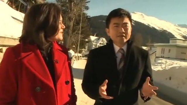 Rui Changgang and Tanya Beckett