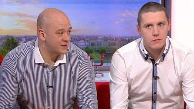 Ben Thomson and Gavin Smith