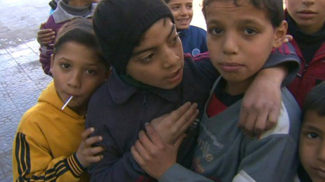 Children in Homs