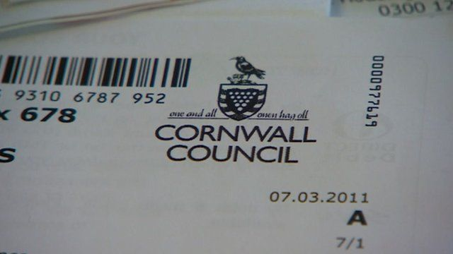 Cornwall Council paperwork