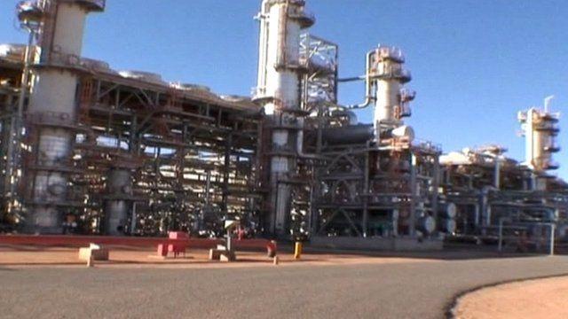 In Amenas gas plant