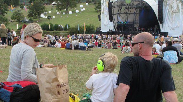 The Big Chill Festival at Eastnor Deer Park