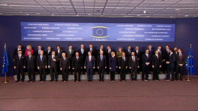 EU summit family photo