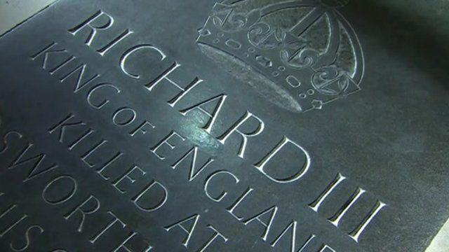 Richard III memorial stone