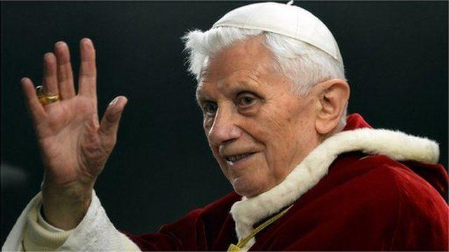 Y Pab Bened XVI (Rhagfyr 2012)