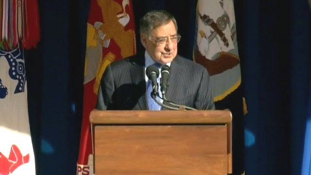 Outgoing Pentagon chief Leon Panetta