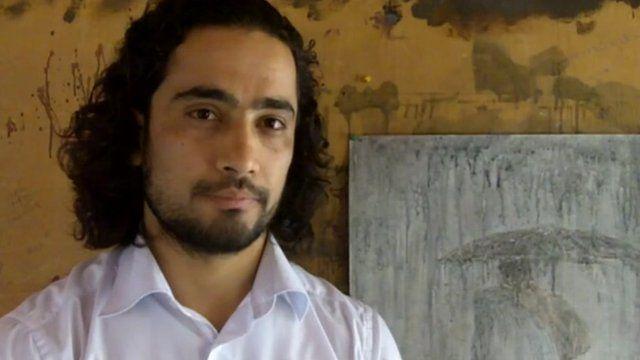 Mohammed Akram, Afghan painter