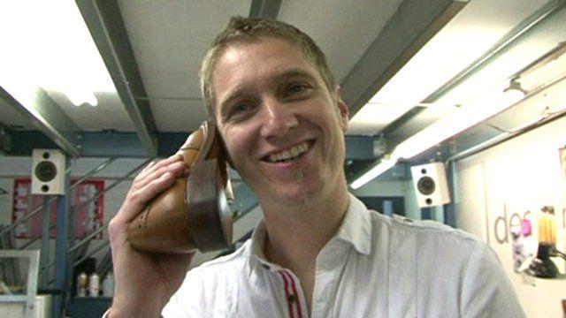 Testing a shoe phone