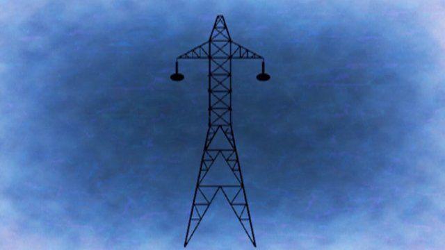 Graphic of a pylon