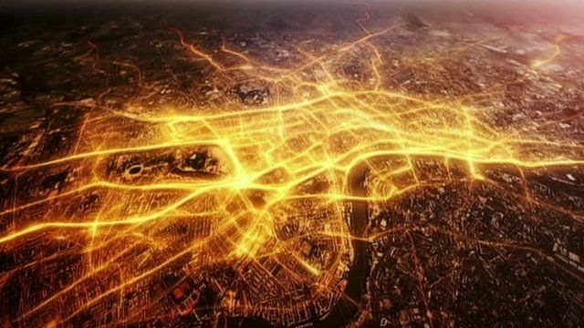 Image of London illustrating connectivity