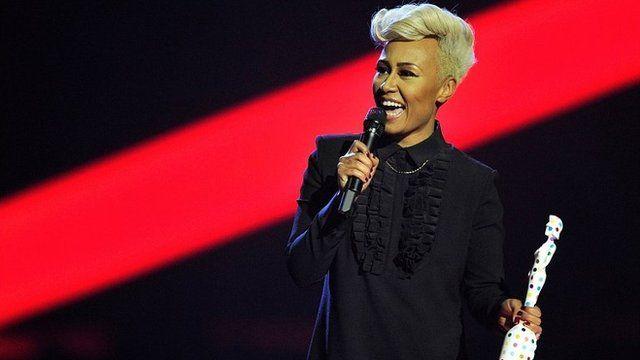 Emeli Sande at the Brit Awards