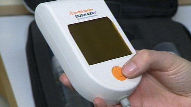 The ultrasound machine