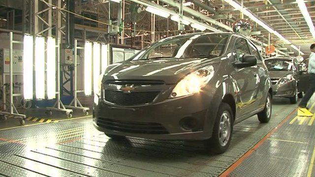 Indian car factory