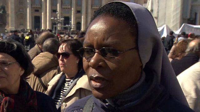 Sister Stella from Zambia