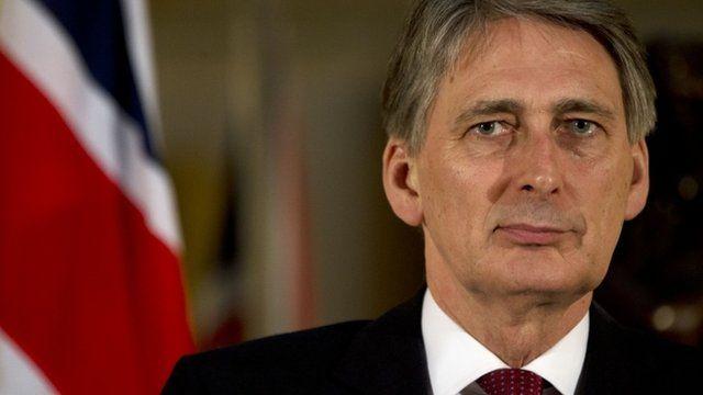Defence secretary Phillip Hammond