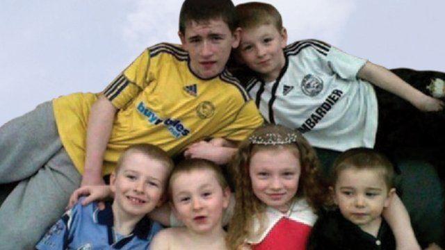 Philpott children who died in house fire