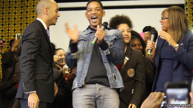 Will Smith at St Martins in the Fields High School