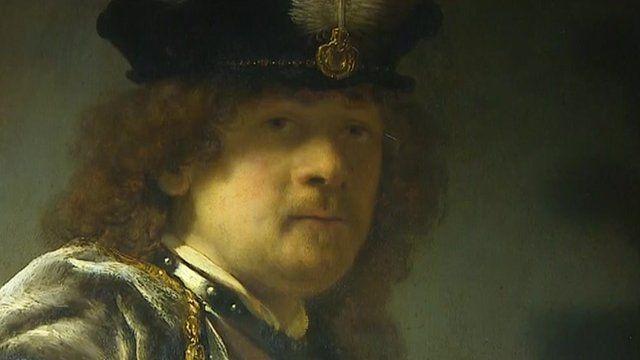 Suspected self-portrait by the Dutch Master Rembrandt