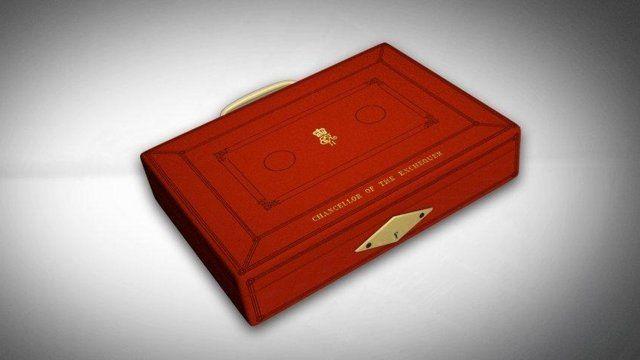 The chancellor's budget box