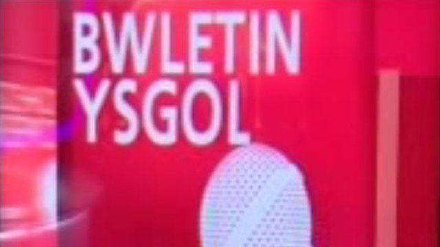 Bwletin ysgol BBC Cymru