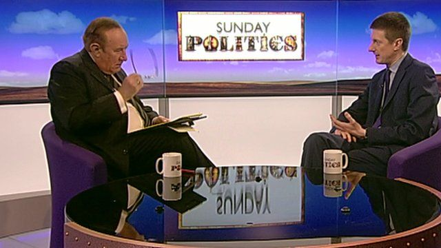 Andrew Neil and Robert Chote